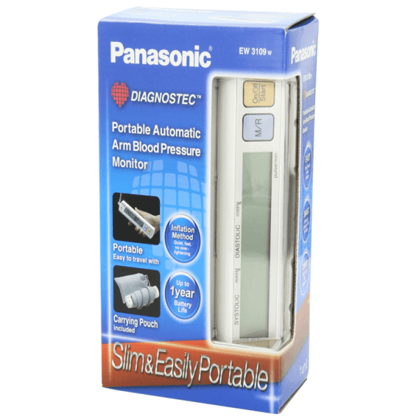 panasonic portable blood pressure monitor review