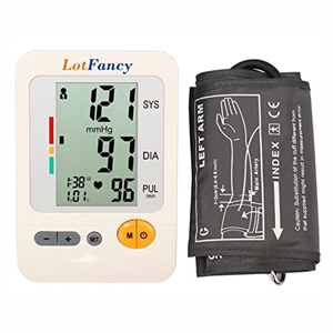 LotFancy Upper Arm Blood Pressure Monitor